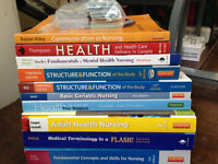 PSW/LPN NBCC course text books for sale
