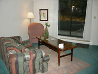 SMALL TWO BEDROOM FULLY FURNISHED SUITE