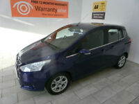 Blue Ford B-Max 1.6 Powershift Zetec ***FROM £165 PER MONTH***