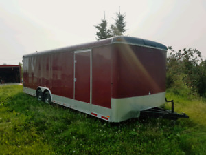 2009 28' Continental Cargo Enclosed Trailer