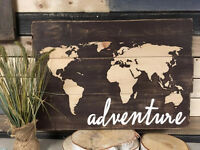 Rustic World Wood Sign Workshop - April 24th @ Montanas South