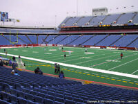 Buffalo Bills Tickets - ALL GAMES - 5th Row Sideline & Uppers!