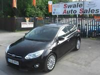 2012 FORD FOCUS TITANIUM X 1.6TDCi ONLY 61,475 MILES,FULL HISTORY £20 A YEAR TAX
