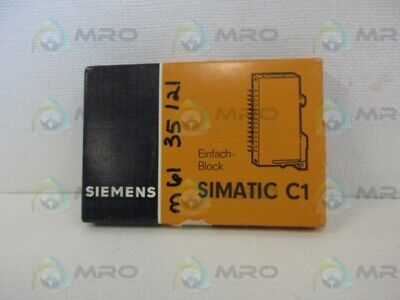 Siemens 6ec 1040-3a Potted Block New In Box