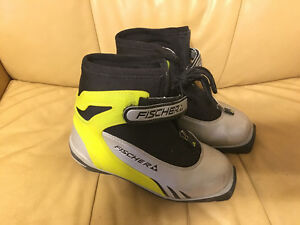 Fischer kids cross-country ski boots
