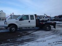 2007 Ford F-350 Diesel Dually extende cab flat deck/or truck box