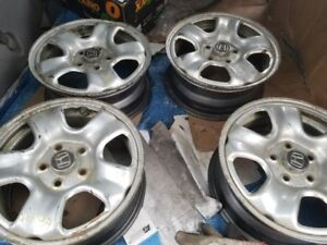 """4x Steel Rims with TPMS for Honda CRV 16"""" 5x114.3"""
