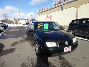 2001 Volkswagen Jetta GLS Sedan E-TESTED & CERT