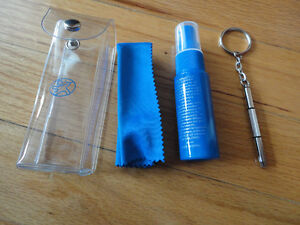 Brand new eyeglass accessories kit tools cleaner spray