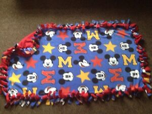 Mickey Mouse handmade fleece blanket