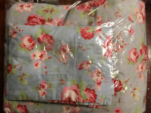 Twin Duvet Set - Floral