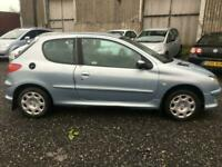 Peugeot 206 1.1 8v ( a/c ) 2005MY Zest 3, PRICED LOW FOR QUICK SALE, HPI CLEAR