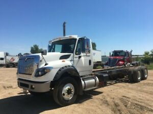 2013 International 7600 6x4, Used Cab & Chassis