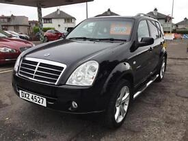 Ssangyong Rexton 2.7TD ( 165bhp ) 4X4 Auto 2008MY S