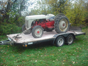 8n ford tractor, blade, trailer Kitchener / Waterloo Kitchener Area image 2