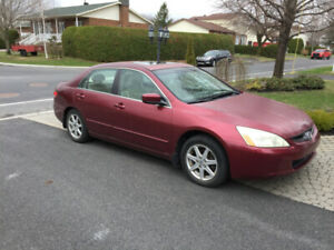 2003 Honda Accord EXL-V6 Berline