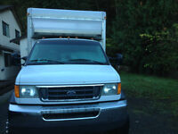 2003 Ford E550 Moving Truck