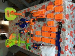 Nerf Gun Collection For Sale.