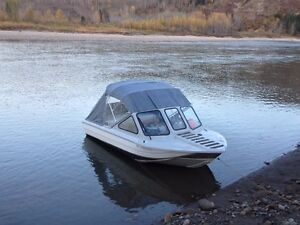 2013 risley bandit 16' jetboat
