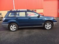 2005 / MITSIBUSHI / OUTLANDER / AUTOMATIC / ELECTRIC WINDOWS / CD / AUG MOT .