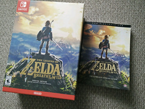 Zelda Breath of the Wild Special Edition Switch