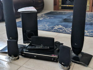 LG 3D Blue Ray Home Theater
