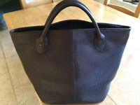 Tote leather bag