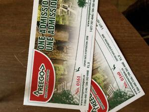 2 TreeGo Tickets