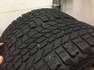 4 pneus d'hiver Firestone Winterforce 205/55r16 5X100