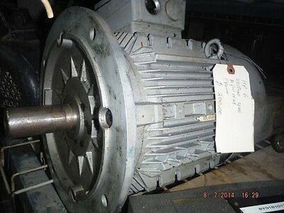 6 Horse Power Siemens Electric Motor 440v 1529 Rpm Used