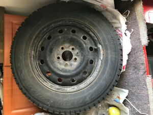 Snow Tires with RIMS - 215/70R16