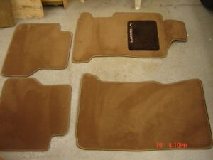 Tapis Moquettes ACURA VIGOR Floor Matts - Neufs New West Island Greater Montréal image 3