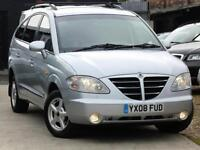 Ssangyong Rodius S 2.7 Turbo DESEL (Mercedes Engine) 7 Seater Tow Bar 2008 (08)