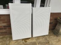 2 x radiators