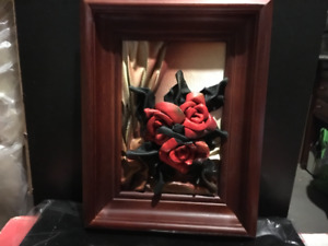HANDCRAFTED LEATHER PICTURE