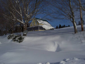 Margaree Highlands Accommodations: Winter Wonderland