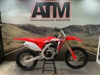 HONDA CRF250 2021 MOTOCROSS BIKE, 0.1 HOURS, UNUSED (ATMOTOCROSS)