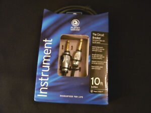 Planet Waves Guitar Cable (with special circuit breaker) - NEW
