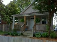 Nice two bedroom home with garage and private fenced yard