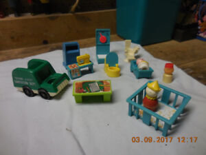accessoires vintage fisher price