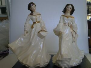 Royal Doulton Figurines Spring Morning HN3725&Free Spirit HN3728