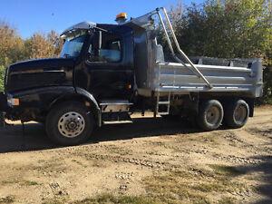 Volvo gravel truck
