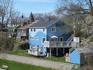 Main Street Grand Bend Vacation Rental right on the Riverfront!!