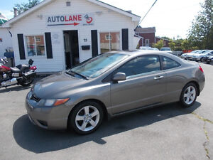 2007 Honda Civic Coupe  SHARP CAR Only $5995 New MVI