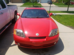 Hyundai tiburon trade for four stroke dirt bike