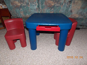 LITTLE TYKES TABLE AND 2 CHAIRS Cambridge Kitchener Area image 2