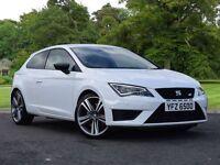 SEAT Leon 2.0 TSI Cupra 280 SportCoupe 3dr (start/stop) (white) 2015