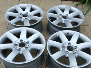 4 mags de BMW mags 8Jx17H2 Si 47 bolt patther 5x120 juste mags p