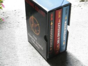 Hunger games trilogy hardcover box set. 1st edition