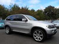 "BMW X5 3.0d Sport AUTOMATIC SAT NAV NAPPA LEATHER 55 PLATE 20"" LE MANS ALLOYS"